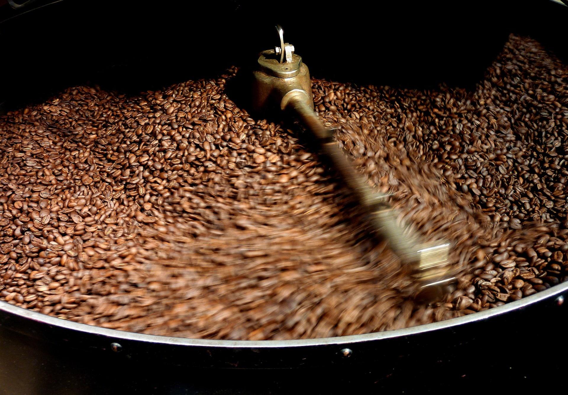 Kaffeebrennerei