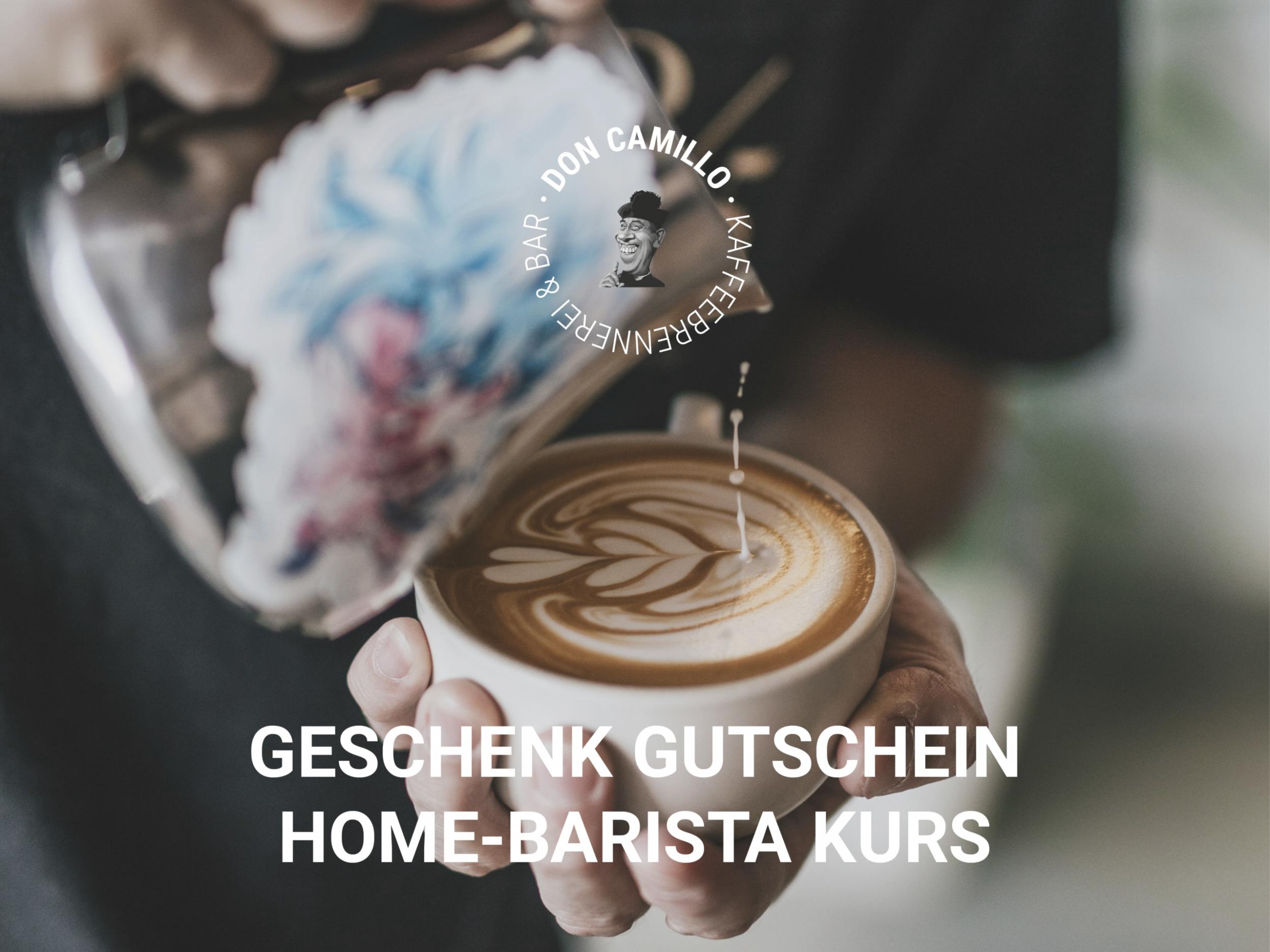 Geschenk Gutschein Home-Barista Kurs
